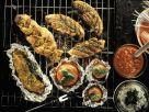 Verschiedene Fleischgerichte vom Grill Rezept