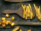 Verschiedene frittierte Kartoffelspeisen Rezept