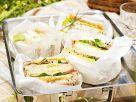 Verschiedene Sandwiches Rezept