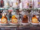 Vier kleine Kastenkuchen Rezept