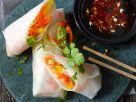 Vietnamesische Rollen mit Gemüsefüllung Rezept