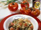 Volkkonrnnudeln mit Tomaten Rezept