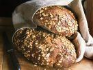 Vollkorn-Haferflocken-Brot Rezept