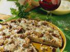 Vollkorn-Pfifferlingspizza Rezept