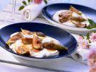 Warme Feigen mit Ziegenfrischkäse Rezept