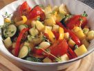 Warmer Kartoffel-Gemüse-Salat Rezept