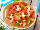 Wassermelonensalat mit Feta und Minze Rezept