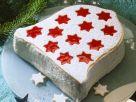 Weihnachtliche Torte in Glockenform Rezept