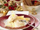 Weihnachtliches Eisparfait mit Keksen Rezept