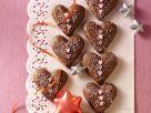 Weihnachtsherzen mit Honig und Nüssen Rezept