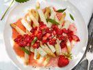 Weißer Spargel mit Erdbeer-Vinaigrette Rezept