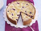 Weißer Zupfkuchen mit Blaubeeren Rezept