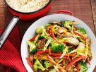 Wokgemüse mit Rind Rezept