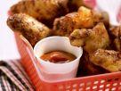 Würzige Chicken Wings mit Dip Rezept