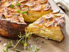 Würziger Kartoffel-Käsekuchen Rezept