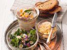 Wurstsalat mit Aufstrich Rezept