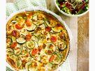 Ziegenkäse-Zucchini-Quiche Rezept