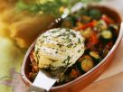 Ziegenkäsetaler mit Gemüse Rezept
