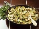 Zucchini-Champignonpfanne Rezept