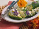 Zucchini gefüllt mit Ziegenfrischkäse Rezept