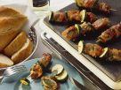 Zucchini-Kalbs-Spieße Rezept