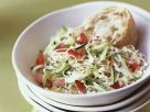 Zucchini-Krautsalat mit Paprika Rezept