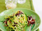 Zucchini-Nudeln mit Radicchio Rezept