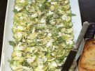 Zucchini-Ricotta-Carpaccio Rezept