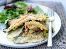 Zucchiniauflauf mit Blattsalat Rezept