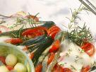 Zucchinifächer Rezept