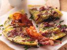 Zwiebeltortilla mit Bacon Rezept