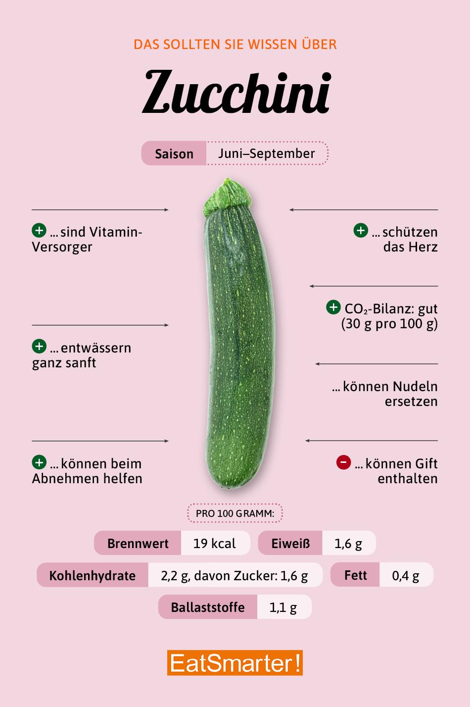 Zucchini Warenkunde